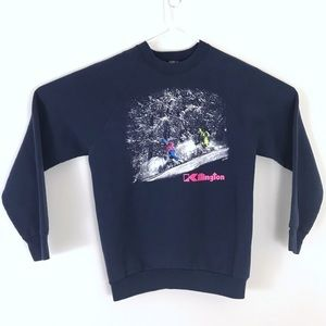 Vintage 1989 Killington Ski Crew Neck Sweatshirt